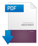 Download a PDF of the Code of conduct