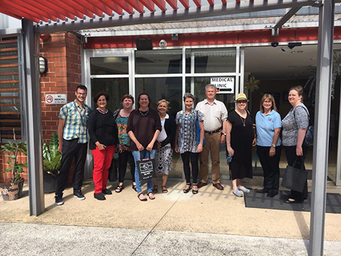 Aboriginal and Torres Strait Islander Health Practice Board - Board and Redfern staff 2016